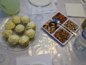 Nuts and Cupcakes on the Jewish New Year for Trees