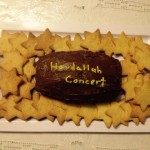 Rebbetzin Rachel made this cake & cookies with the girls in her cheder class. They were a hit!