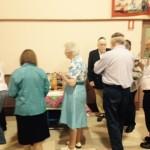 Congregants enjoy refreshments at the Adelaide Hebrew Congregation havdallah concert