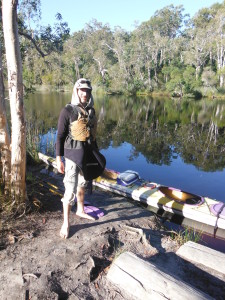 Ben Kayak Noosa Everglades Queensland